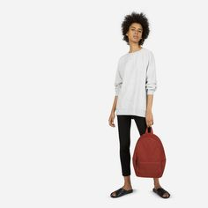The Street Nylon Zip Backpack - Small - Everlane