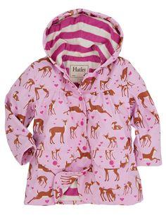 Hatley Infant Raincoat-Fairy Tale Horses Abrigo Impermeable para Beb/és