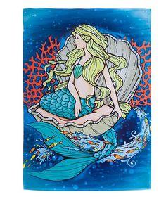 mermaidhomedecor.com - Mermaid Outdoor Flag $8.99