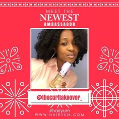 Congrats to @thecurltakeover_ for becoming one of our #hairyum #brandambassadors  .  .  .  .  #hairyum #naturalhair #hairyumbrandambassador #naturalcurls #naturalbeauty #healthyhair #batonrouge #louisiana #naturalcurls #teamnatural #texturedhair #hairgrowth #happycurls #protectivestyles #veganhaircare #hairyumsmellsogood #hairyumcollection #love #thenaturalway #branding #keyinfluencer #hairproducts #theshaderoom #balleralert #essence #healthy_hair_journey #taganaturalista #happywednesday