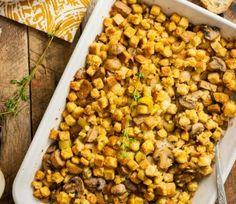 The easiest vegan stuffing for Thanksgiving!
