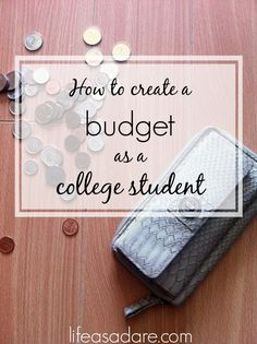I hate budgeting. It's stressful and finicky, but it's necessary. Here are some easy ways to budget your money as a student so that you know you won't bleed your bank account dry! read the rest at lifeasadare.com
