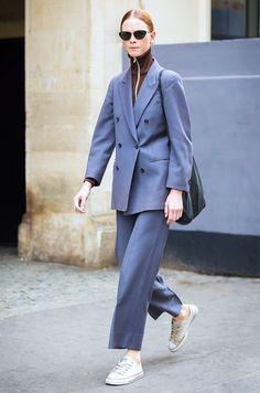 Suit + Zip Turtleneck