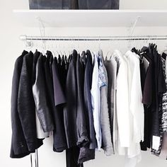 A little preview of what I am talking about on the blog today #walkincloset #closet #wardrobe after drk