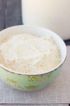 Gluten-Free, Multigrain, Make-Ahead Pancake Mix {Dairy-Free} | Meaningful Eats