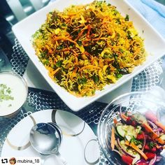 #Travel through food #repost @mubina_18  Afghani Pulaw.  @mubina_18.  This Afghani Pulao is from the north in Afghanistan and many consider this to be the national dish. It is easy to see why the dish is succulent with a lovely combination of flavors.  It is not spicy like Biryani but has an elegance to it with glistening carrots and raisins and then the tenderness of the beef.  500 grm beef  1 cup Beef broth  2 cups basmati rice  1 tin chickpeas  1 large onion chopped  1 tsp Garam Masala  2…