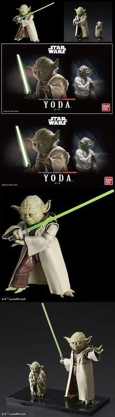 Star Wars 49212: Bandai Star Wars 1 6 Ep2 And 1 12 Ep5 Yoda Model Kit -> BUY IT NOW ONLY: $36 on eBay!