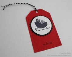 In My Creative Opinion: 25 Days of Christmas Tags - Tag 14 25 Days Of Christmas, Christmas Tag, Christmas Treats, Xmas, Card Stock, Gift Wrapping, Pure Products, Creative, Gifts