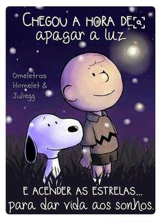 Acenda as estrelas Kids Videos, Craft Videos, Snoopy Love, Peanuts Gang, Charlie Brown, Good Night, Messages, Feelings, Words