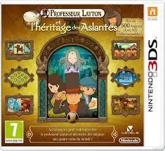 Le professeur Layton : L'héritage des Aslantes - 3DS