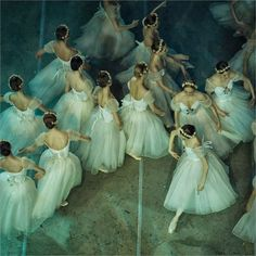 russian ballet backstage, by mark olich.