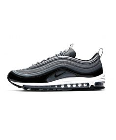 b6adfc2acf02 Nike Air Max 97 Trainers In Black Patent Leather Ladies Black Trainers