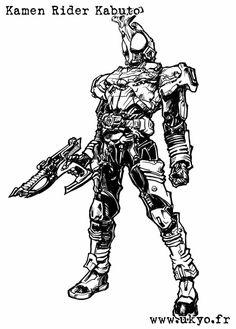 Kamen Rider Kabuto rider form by Uky0.deviantart.com