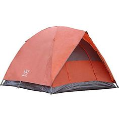 e2d07181cd14c2 Amazon.com : BOSON 3-person Outdoor Double layer Waterproof Family Tent for  Traveling, Camping, Hiking with Portable Bag : Sports & Outdoors