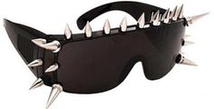 Spiked Sunglasses. Goth Shopaholic: Supplies for Goths to Stay Pale and Cool This Summer