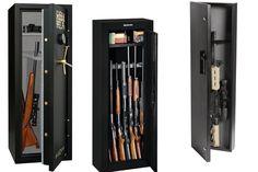 Rifles and shotguns need to be properly secured to avoid theft and damage. Find… Shotguns, Rifles, Locker Storage, Hunting Guns, Weapons, Cheat Sheets, Hunting Rifles, Revolvers, Shotgun