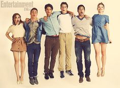 Holland Roden, Colton Haynes, Tyler Posey, Dyaln O'Brien, Tyler Hoechlin, Crystal Reed