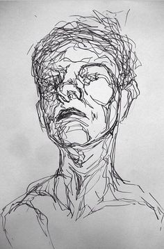 Effective use of contouring to force eyes to move along the contours of the subjects face. Focuses on outline rather than minor details.