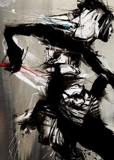 A new set of edgy art was just released by London based artist Byroglyphics (aka Russ Mills). We've written about Russ Mills before, how his messy art Messy Art, Human Art, Art Graphique, Art Plastique, Cool Artwork, Traditional Art, Dark Art, Art Drawings, Pencil Drawings