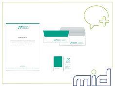 Papel timbrado, envelope cheque e cartão de visita criados para o cliente Nova Ambiental, de Angola