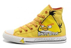 http://www.jordanabc.com/yellow-angry-birds-converse-all-star-chuck-taylor-high-top-shoes.html YELLOW ANGRY BIRDS CONVERSE ALL STAR CHUCK TAYLOR HIGH TOP SHOES Only $59.00 , Free Shipping!