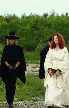 Jessica Lange and Frances Conroy in American Horror Story: Coven (2013) --- image via @Mike Powers