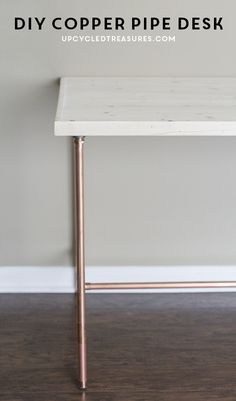 1000 images about editors 39 favorite blogger projects on for Table y copper tube
