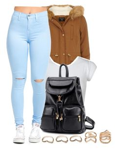 """"""""""" by eazybreezy305 ❤ liked on Polyvore featuring Dorothy Perkins, BeiBaoBao, Forever 21, women's clothing, women, female, woman, misses, juniors and Trendy"""