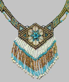 Persia Necklace Pattern at Bead-Patterns.com