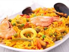 Paella with Thermomix Arroz Risotto, Quinoa, Cooking Pork Chops, Cooking Classes Nyc, Seafood Paella, Cold Appetizers, One Pot Pasta, Warm Food, Cooking Turkey