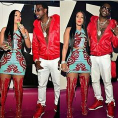 """Check out the latest Keyshia Ka'oir Look as """"The Wopsters"""" celebrated that October release of Gucci Mane's new album, WOPTOBER."""