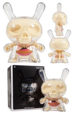 Kidrobot x Jason Freeny - 8 Visible Dunny pre-order... with production pics!