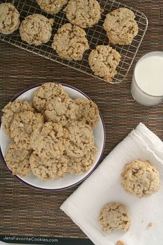 how to make oatmeal cookies-use 1/2 cup reg sugar and 1/2 cup brown sugar-add white Choc chips