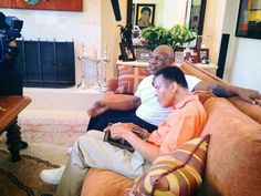 Muhammad Ali & Mike Tyson in my living room lol