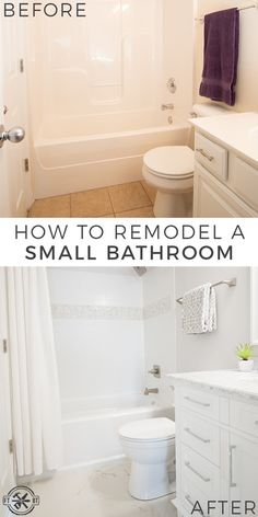 Have an outdated small bathroom? You can give it a fresh custom look! I'll show you how to remodel a small bathroom by replacing the shower/tub surrou. Tub Remodel, Diy Bathroom Remodel, Shower Remodel, Bathroom Renovations, Bathroom Ideas, Bathroom Vanities, Shower Ideas, Bathroom Fixtures, Bathroom Organization