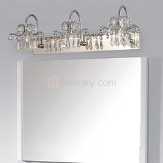 Chrome Bathroom Vanity Lights Http://www.yourhomestyles.com/wp