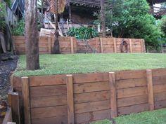 Retaining walls on Behance