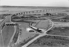 Viaduc de l' ile d'oleron - 1966 - Ile d'Oléron vintage, Charente-Maritime, France