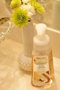 Making Foaming Hand Soap from Regular Liquid Soap