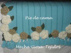 Pie de cama. Tejidos para el hogar. Mecha Giosa. Deco y diseño en tus ambientes. By Mecha.