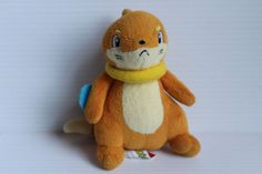 BUIZEL-Stuffed-Yellow-Pokemon-with-Yellow-Collar-toy-for-child-plush-for-child