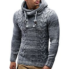 LEIF NELSON Men s Knitted Pullover 20227 Pletení Hladce f3f7db7447