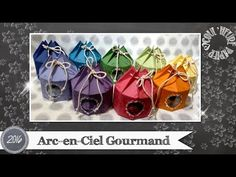 "Vidéo-Tuto ""Arc-en-Ciel Gourmand"" par Coul'Heure Papier - YouTube Windows Movie Maker, Envelope Punch Board, Stamping Up, Bag Making, Farmhouse Decor, Mini, Decorative Boxes, Scrapbook, Wraps"