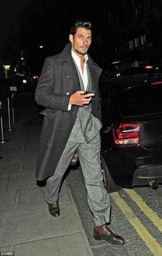 Supermodel David Gandy or book boyfriend Gideon Cross (Crossfire Series)