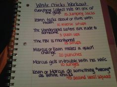 White Chicks movie workout! Submission :)  Want to see more workouts like this one? Follow us here.