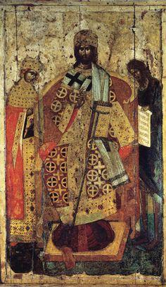 Предста царица (Царь царем), сербский мастер, кон. 14 в., Успенский собор Московского кремля