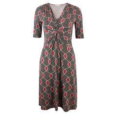 Livia Sultan Red von KD Klaus Dilkrath #kd #dilkrath #kd12 #klausdilkrath #outfit #dress #sultan #red #readytowear #dot #kleid #office #look #knot #pretty