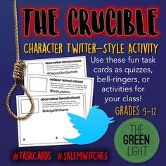 the crucible character diary project