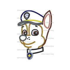 Hey, I found this really awesome Etsy listing at https://www.etsy.com/listing/220502881/police-dog-applique-machine-embroidery