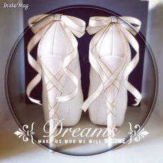DIY heels with ribbons  White platform heels
